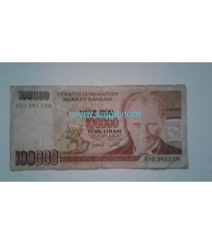 Cumhuriyet dönemi kağıt para