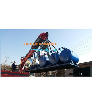 fuel making from waste tire  kalkanlar machina