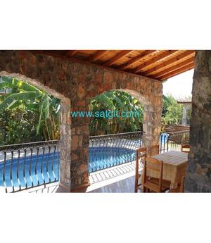 Muğla Fethiye de özel havuzlu haftalık kiralık lüks villa
