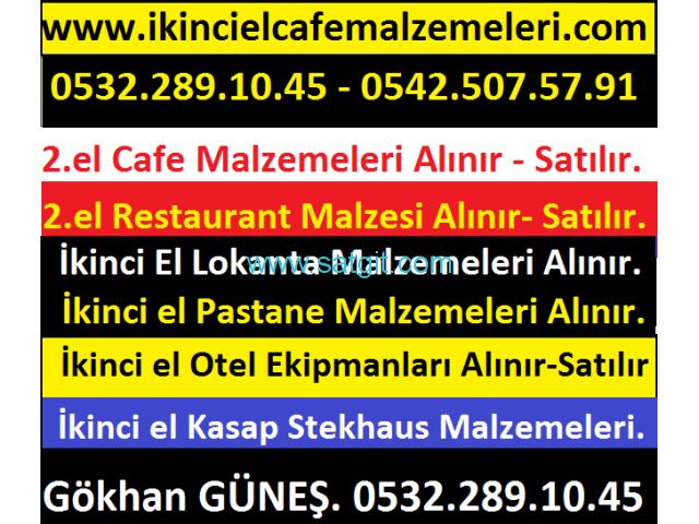 İKİNCİ EL ENDÜSTRİYEL MUTFAK MALZEMELERİ ALINIR & SATILIR. 0532 289 1045 - 1/8