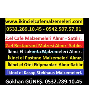 İKİNCİ EL ENDÜSTRİYEL MUTFAK MALZEMELERİ ALINIR & SATILIR. 0532 289 1045