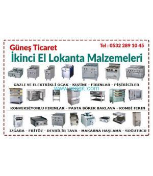 2.el Lokanta Ekipmanları Alım - Satım. 0532 289 10 45