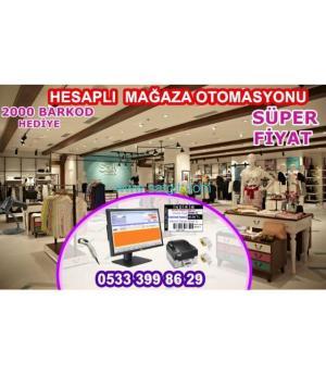 Mağaza Barkodlu Barkodsuz Satış Programı -(Kritik Stok Göstergeli)