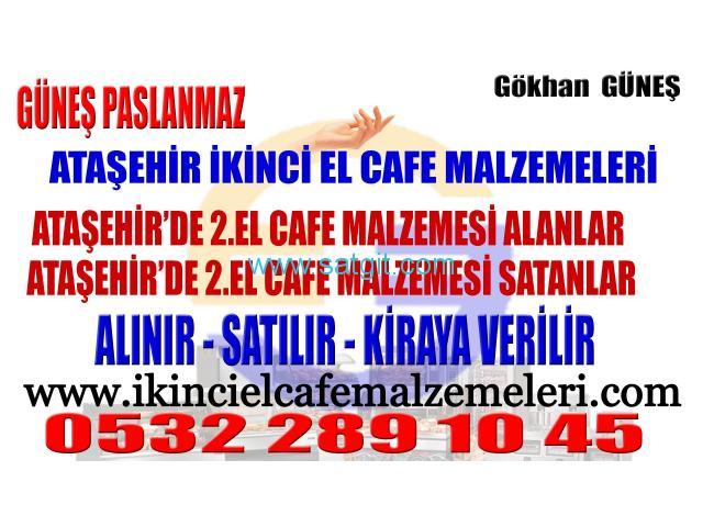 Ataşehir'de 2. El Cafe Malzemeleri Spotçusu - 1/8